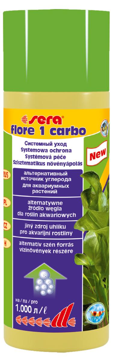 Удобрение для аквариумных растений Sera Flore 1 Carbo, 250 мл0120710Удобрение для аквариумных растений Sera Flore 1 Carbo содержит дополнительный углерод для оптимального роста растений. Предоставляет различные эффективные источники углерода в жидком виде для активного удобрения и является, таким образом, неосложненной альтернативой системе удобрения CO2; однако может и дополнить ее.