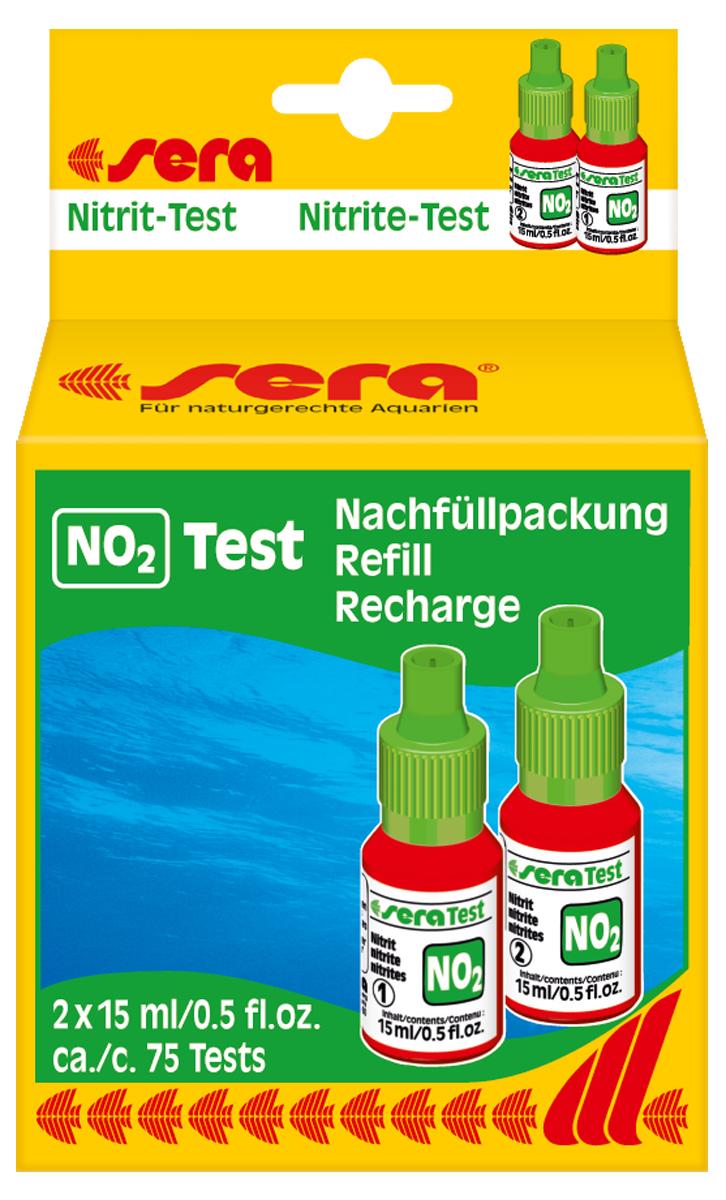 Сменный реагент Sera NO2-Test, 15 мл, 2 шт0120710Сменный реагент Sera NO2-Test предназначен для измерения уровня содержания оксида азота в аквариумной воде. В наборе 2 флакона по 15 мл. Количества реагентов достаточно для проведения приблизительно 75 измерений.