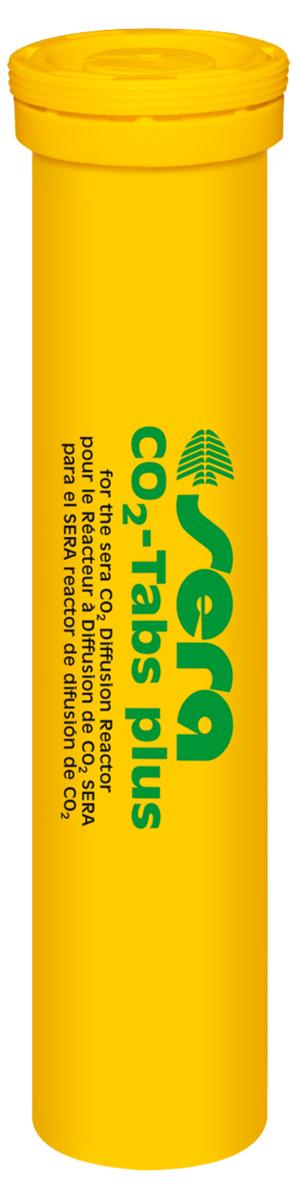 Таблетки Sera CO2-Tabs для реактора CO2-Start, 20 шт0120710Таблетки Sera CO2-Tabs предназначены для удобрения растений углекислым газом. Находящиеся в таблетках микроэлементы и питательные вещества предотвращают появление их дефицита у растений. Поместите 1 таблетку в Sera реактор растворения СО2. Сразу после этого произойдет выделение около 100 мл (приблизительно 2500 пузырьков) чистого углекислого газа (для удобрения растений этого достаточно более чем на 8 часов). При использовании следуйте инструкции Sera реактора СО2.