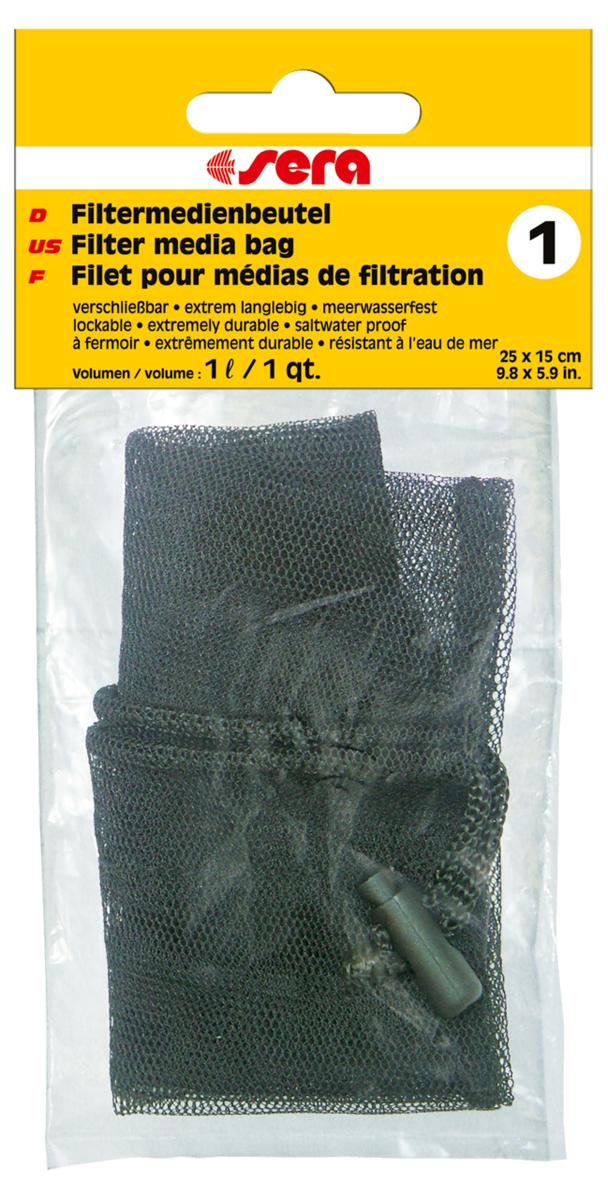 Сменный мешочек Sera №1, для фильтрующих наполнителейART-1160506Сменный мешочек Sera №1 предназначен для фильтрующих материалов: активированного угля, материалов для биологической фильтрации, торфа и т.п. Для многократного использования.