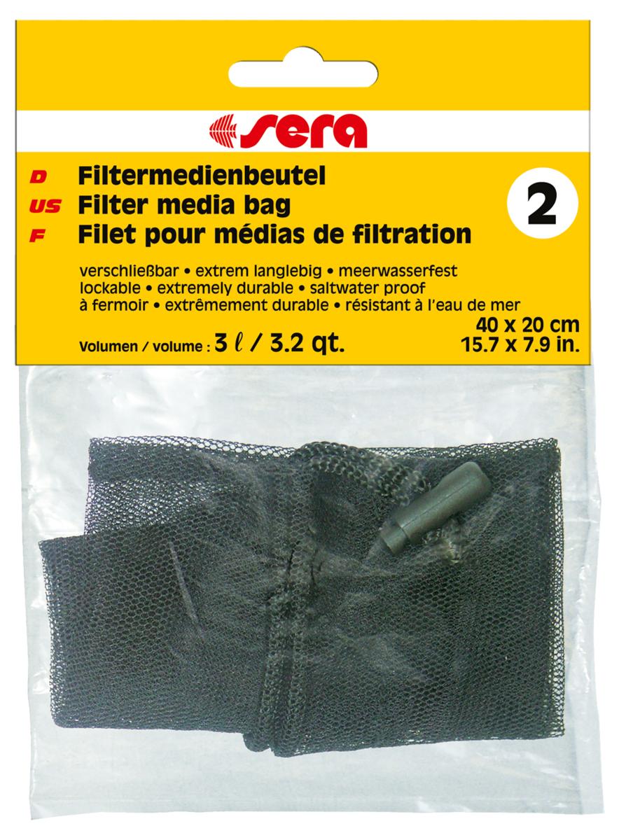 Сменный мешочек Sera №2, для фильтрующих наполнителейART-2230170Сменный мешочек Sera №2 предназначен для фильтрующих материалов: активированного угля, материалов для биологической фильтрации, торфа. Для многократного использования.