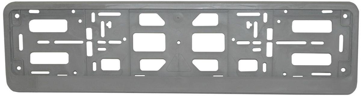 Рамка номерного знака Триада Lux, цвет: серебристыйKGB GX-5RSУниверсальное расположение отверстий позволяет устанавливать рамку на любых автомобилях, включая американские и японские.Элементы фиксации, расположенные по всему периметру рамки номера, дают возможность без каких-либо усилий крепить в ней номерной знакРамка-книжка под автомобильный номер изготавливается из высококачественного полипропилена.