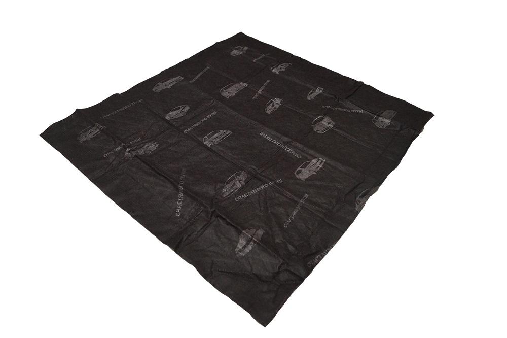 Автомобильный коврик Rexxon, влаговпитывающий, цвет: черный, 40 х 60 см98291124Обеспечивает чистоту в любое время года, особенно необходим в мокрую погоду. Способен собирать пыль,песок и впитывать влагу, химические реагенты, соли, остатки нефтепродуктовна подошвах обуви.