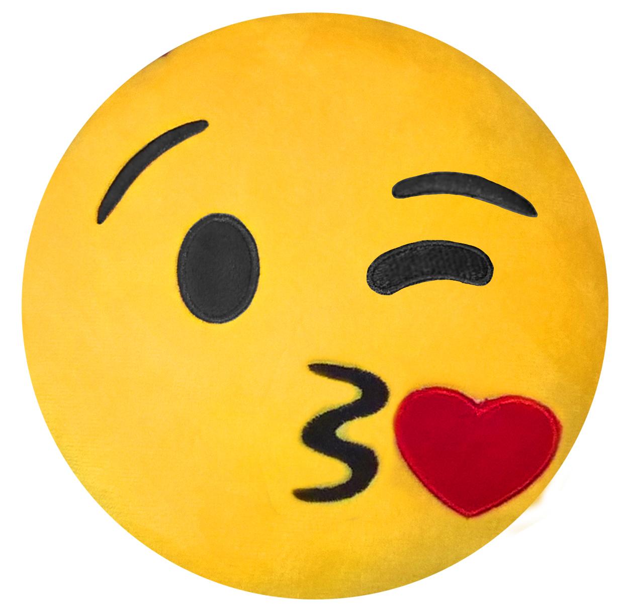 Подушка на подголовник Rexxon Поцелуй, цвет: желтый3-13-4-1-1Включает в себя функции подушки, подголовника, игрушки.