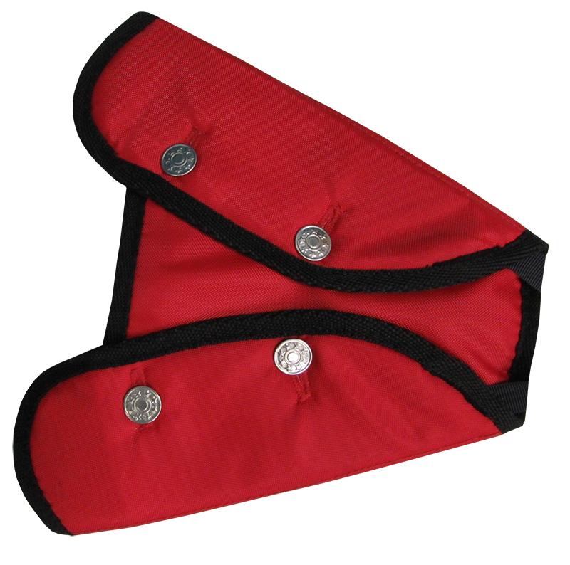 Адаптер ремня безопасности Rexxon, цвет: красный3-4-2-2-1Фиксирующие устройство двухкрылое. Цвет-красный.