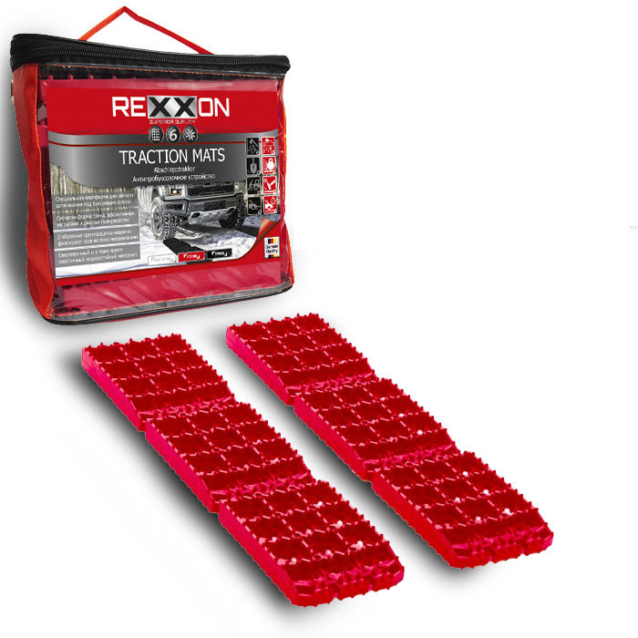Лента антипробуксовочная Rexxon Антибукс Pro, цвет: черный1-35-2-1-0