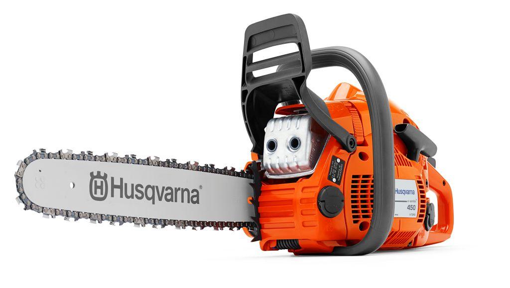 Бензопила Husqvarna 450E2000107Бензопила Husqvarna 450E является превосходным инструментом среднего класса мощности, который решит все Ваши задачи, а благодаря системе упрощенного пуска и насосу для подкачки топлива бензопила будет готова к работе всего за пару секунд.