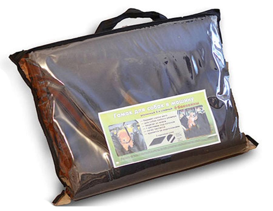 Автогамак Auto premium усиленный, для перевозки средних собак, с защитой дверейGL-478Усиленная защитная накидка-гамак на задние сидение для перевозки средних собак изготовлена из прочного водоотталкивающего и грязеотталкивающего материала, которые позволяют защитить обивку салона от грязи, шерсти и воды. Для усиления защитных свойств используется 3 прочных слоя, а благодаря амортизирующему материалу салон защищен от механических повреждений при перевозке животных или крупногабаритных грузов. Для защиты дверей предусмотрены защитные боковины, которые крепятся при помощи специальной стропы