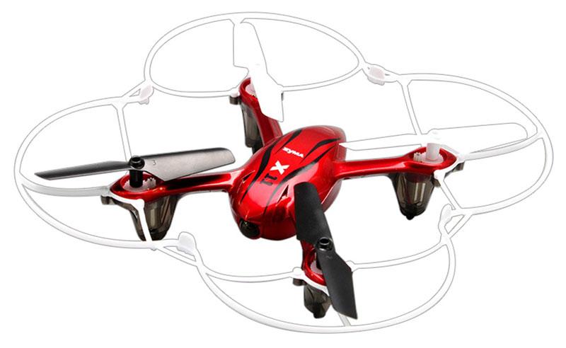 Syma Квадрокоптер на радиоуправлении X11 цвет красный