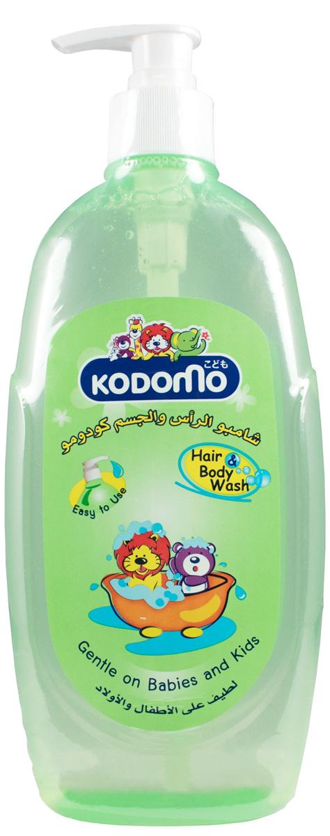 LionThailand Kodomo Средство детское для мытья От макушки до пяточек 400 мл