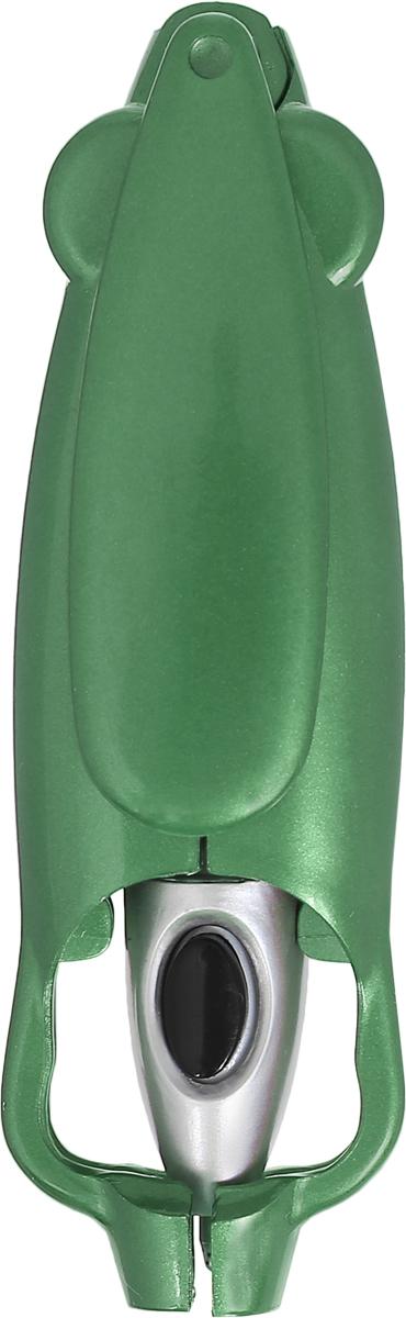 Эврика Ручка шариковая Раскладушка цвет корпуса зеленыйCPs_11727Оригинальная шариковая ручка Эврика Раскладушка имеет раскладывающийся механизм.С помощью специальной кнопки, расположенной на корпусе, ручка автоматически разложится.Такая ручка удивит и порадует получателя.