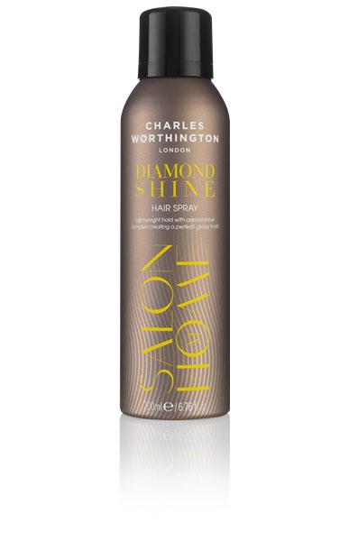 Charles Worthington Лак для волос Бриллиантовый блеск, 200 мл.721210Новая полимерная технология создает глянцевую вуаль, обеспечивая прочную фиксацию и естественный блеск . Благодаря мелким кристаллическим частицам, входящим в состав, Ваши волосы выглядят блестящими на протяжении долгого времени.