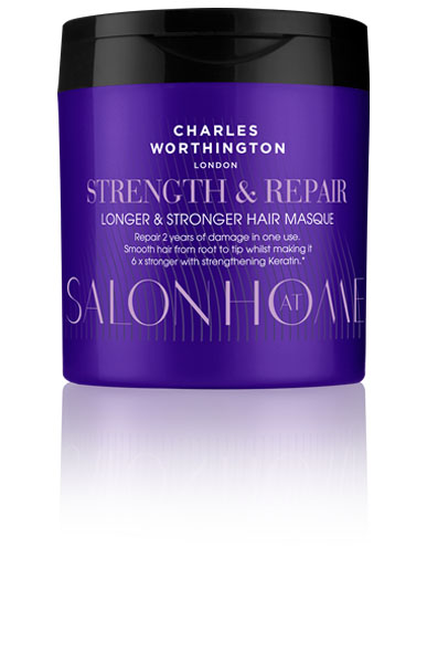 Charles Worthington Маска для восстановления волос Длина и сила, 160 мл.C5640100Маска помогает Вашим волосам вырасти до максимальной потенциально возможной длины. Его питательная формула не только восстанавливает даже самые сильные повреждения за одно применение, но и защищает от повреждений от горячих укладок, помогает предотвратить выпадение волос.