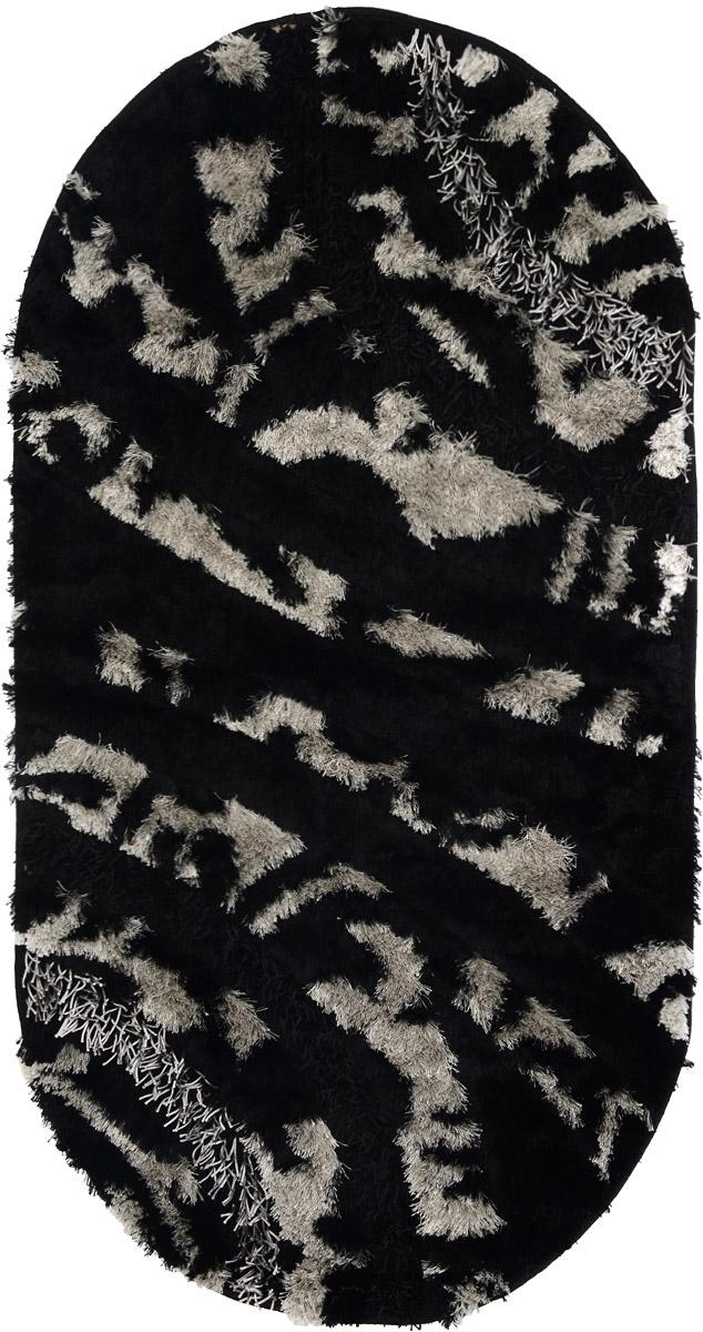 Ковер ART Carpets Арт Фешен, овальный, 80 х 150 см531-103Ковер ART Carpets Арт Фешен прекрасно подойдет для любого интерьера. Изделие изготовлено из 50% полиэстера, 30% микрофибры и 20% букле. За счет прочного ворса ковер легко чистить. При надлежащем уходе синтетический ковер прослужит долго, не утратив ни яркости узора, ни блеска ворса, ни упругости. Самый простой способ избавить изделие от грязи - пропылесосить его с обеих сторон (лицевой и изнаночной). Влажная уборка с применением шампуней и моющих средств не противопоказана. Хранить рекомендуется в свернутом рулоном виде.