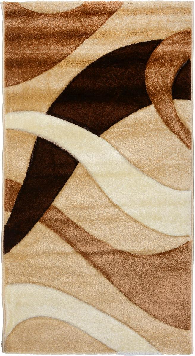 Ковер Mutas Carpet Панда, прямоугольный, цвет: бежевый, коричневый, 80 х 150 см41619Ковер Mutas Carpet Панда изготовлен из прочного синтетического материала heat-set, улучшенного варианта полипропилена (эта нить получается в результате его дополнительной обработки). Полипропилен износостоек, нетоксичен, не впитывает влагу, не провоцирует аллергию. Структура волокна в полипропиленовых коврах гладкая, поэтому грязь не будет въедаться и скапливаться на ворсе. Практичный и износоустойчивый ворс не истирается и не накапливает статическое электричество. Ковер обладает хорошими показателями теплостойкости и шумоизоляции. Оригинальный рисунок позволит гармонично оформить интерьер комнаты, гостиной или прихожей. За счет невысокого ворса ковер легко чистить. При надлежащем уходе синтетический ковер прослужит долго, не утратив ни яркости узора, ни блеска ворса, ни упругости. Самый простой способ избавить изделие от грязи - пропылесосить его с обеих сторон (лицевой и изнаночной). Влажная уборка с применением шампуней и моющих средств не противопоказана. Хранить рекомендуется в свернутом рулоном виде.