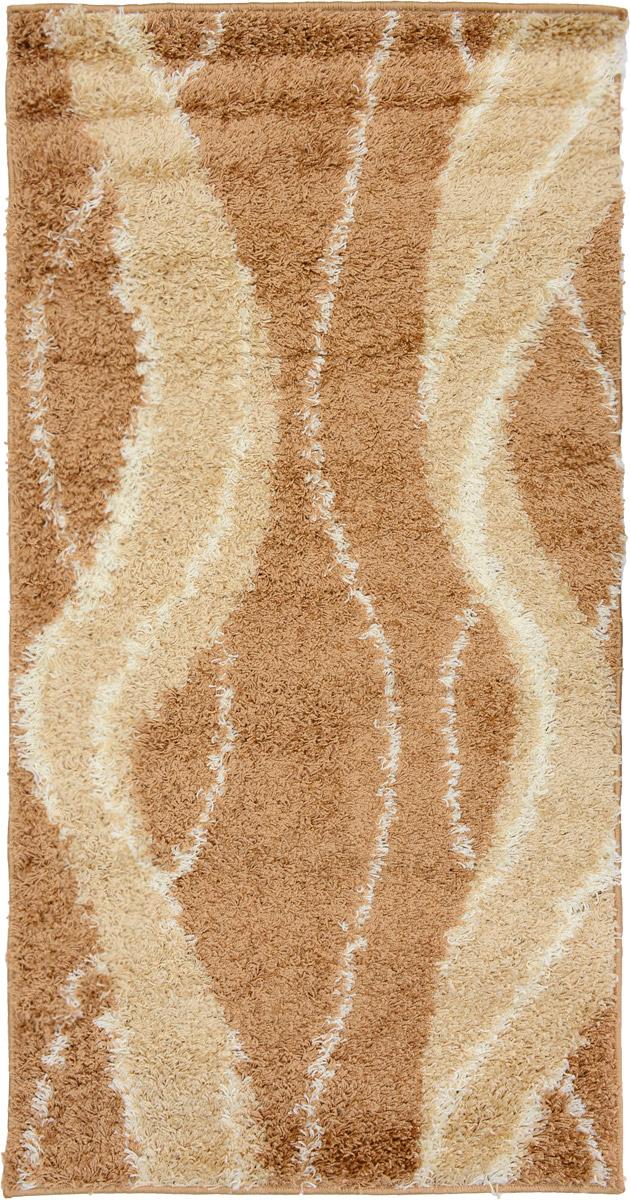 Ковер Mutas Carpet Shaggy Fashion, прямоугольный, цвет: бежевый, слоновая кость, 80 х 150 смNLED-441-7W-BKКовер Mutas Carpet Shaggy Fashion изготовлен из прочного полипропилена. Полипропилен износостоек, нетоксичен, не впитывает влагу, не провоцирует аллергию. Структура волокна в полипропиленовых коврах гладкая, поэтому грязь не будет въедаться и скапливаться на ворсе. Практичный и износоустойчивый ворс не истирается и не накапливает статическое электричество. Ковер обладает хорошими показателями теплостойкости и шумоизоляции. Оригинальный рисунок позволит гармонично оформить интерьер комнаты, гостиной или прихожей. За счет невысокого ворса ковер легко чистить. При надлежащем уходе синтетический ковер прослужит долго, не утратив ни яркости узора, ни блеска ворса, ни упругости. Самый простой способ избавить изделие от грязи - пропылесосить его с обеих сторон (лицевой и изнаночной). Влажная уборка с применением шампуней и моющих средств не противопоказана. Хранить рекомендуется в свернутом рулоном виде.