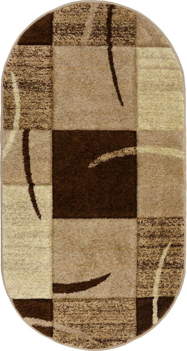Ковер Mutas Carpet Супер ПандаЭкстра, прямоугольный, цвет: бежевый, коричневый, 80 х 150 см531-105Ковер Mutas Carpet Супер ПандаЭкстра изготовлен из прочного полипропилена. Полипропилен износостоек, нетоксичен, не впитывает влагу, не провоцирует аллергию. Структура волокна в полипропиленовых коврах гладкая, поэтому грязь не будет въедаться и скапливаться на ворсе. Практичный и износоустойчивый ворс не истирается и не накапливает статическое электричество. Ковер обладает хорошими показателями теплостойкости и шумоизоляции. Оригинальный рисунок позволит гармонично оформить интерьер комнаты, гостиной или прихожей. За счет невысокого ворса ковер легко чистить. При надлежащем уходе синтетический ковер прослужит долго, не утратив ни яркости узора, ни блеска ворса, ни упругости. Самый простой способ избавить изделие от грязи - пропылесосить его с обеих сторон (лицевой и изнаночной). Влажная уборка с применением шампуней и моющих средств не противопоказана. Хранить рекомендуется в свернутом рулоном виде.