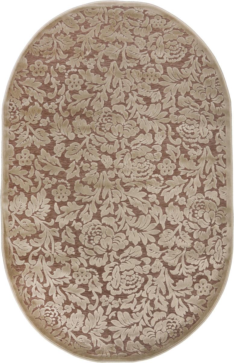 Ковер ART Carpets Платин, овальный, 120 х 180 см. 20342013021218287125051 7_желтыйКовер ART Carpets Платин изготовлен из акрила. Структура волокна гладкая, поэтому грязь не будет въедаться и скапливаться на ворсе. Практичный и износоустойчивый ворс не истирается и не накапливает статическое электричество. Ковер обладает хорошими показателями теплостойкости и шумоизоляции. Оригинальный рисунок позволит гармонично оформить интерьер комнаты, гостиной или прихожей. За счет невысокого ворса ковер легко чистить. При надлежащем уходе ковер прослужит долго, не утратив ни яркости узора, ни блеска ворса, ни упругости. Самый простой способ избавить изделие от грязи - пропылесосить его с обеих сторон (лицевой и изнаночной). Хранить рекомендуется в свернутом рулоном виде.