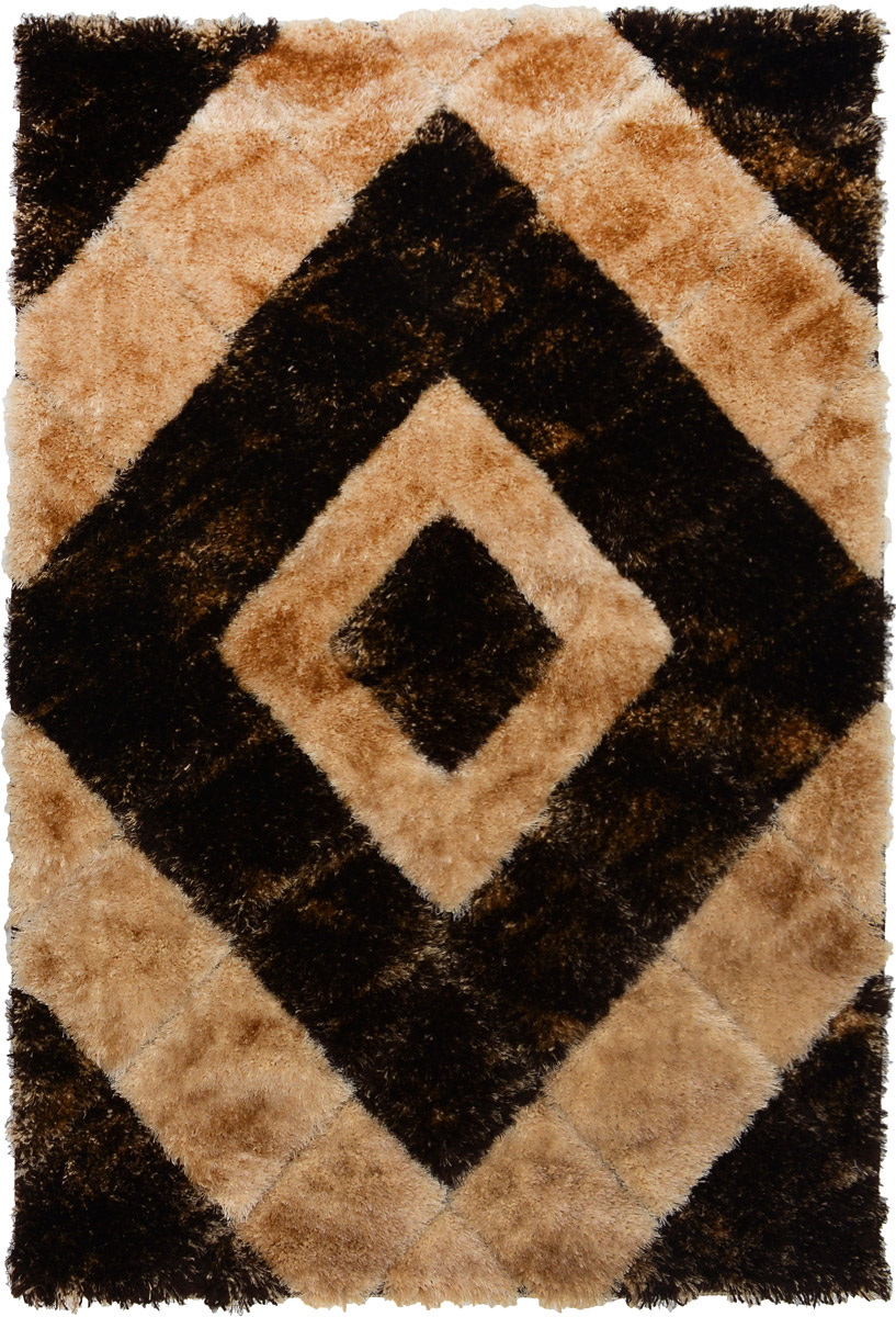 Ковер ART Carpets Триа, прямоугольный, 120 х 180 см28907 4Прямоугольный ковер ART Carpets Триа изготовлен из 100% полиэстера. Структура волокна гладкая, поэтому грязь не будет въедаться и скапливаться на ворсе. Практичный и износоустойчивый ворс не истирается и не накапливает статическое электричество. Ковер обладает хорошими показателями теплостойкости и шумоизоляции. Оригинальный рисунок позволит гармонично оформить интерьер комнаты, гостиной или прихожей. За счет невысокого ворса ковер легко чистить. При надлежащем уходе ковер прослужит долго, не утратив ни яркости узора, ни блеска ворса, ни упругости. Самый простой способ избавить изделие от грязи - пропылесосить его с обеих сторон (лицевой и изнаночной). Хранить рекомендуется в свернутом рулоном виде.