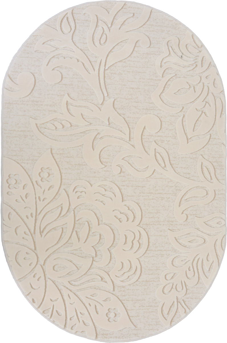 Ковер ART Carpets Лавина, овальный, 120 х 180 см25051 7_желтыйКовер ART Carpets Лавина изготовлен из акрила. Структура волокна гладкая, поэтому грязь не будет въедаться и скапливаться на ворсе. Практичный и износоустойчивый ворс не истирается и не накапливает статическое электричество. Ковер обладает хорошими показателями теплостойкости и шумоизоляции. Оригинальный рисунок позволит гармонично оформить интерьер комнаты, гостиной или прихожей. За счет невысокого ворса ковер легко чистить. При надлежащем уходе ковер прослужит долго, не утратив ни яркости узора, ни блеска ворса, ни упругости. Самый простой способ избавить изделие от грязи - пропылесосить его с обеих сторон (лицевой и изнаночной). Хранить рекомендуется в свернутом рулоном виде.