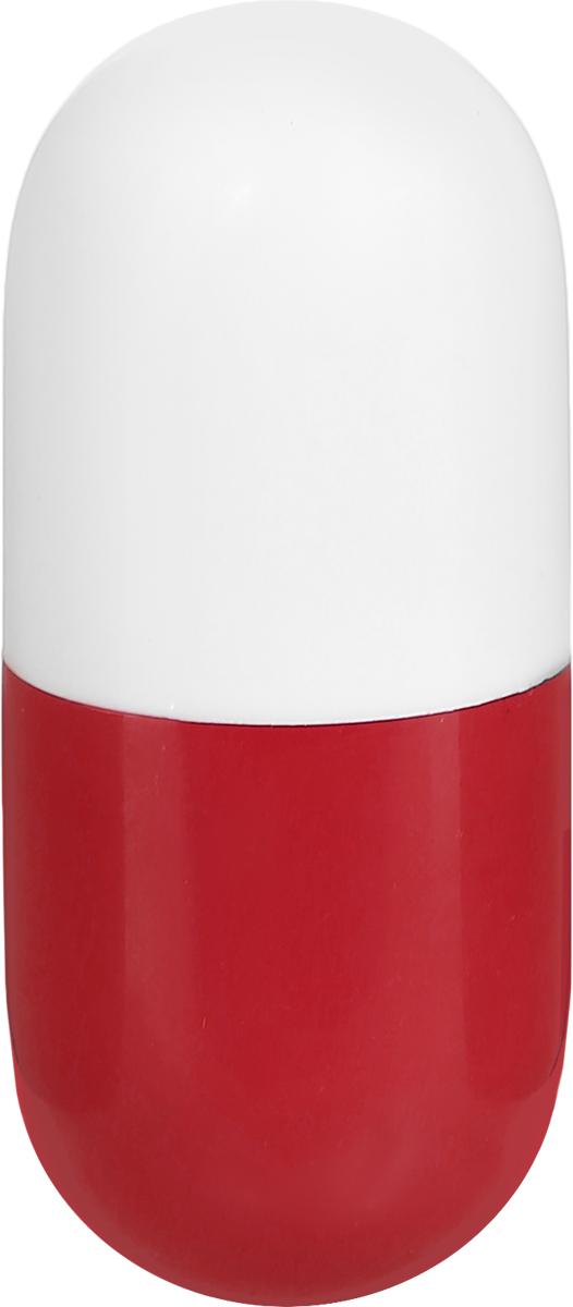 Эврика Ручка шариковая Пилюля неваляшка цвет корпуса красный белыйPP-304Миниатюрная ручка в виде пилюли имеет приятную округлую форму и удобный карманный формат. Стержень синего цвета не подлежит замене.Корпус ручки содержит специальным образом расположенный груз, который делает из обычной ручки игрушку-неваляшку.Симпатичный сувенир для медицинских работников и просто любителей необычной канцелярии.