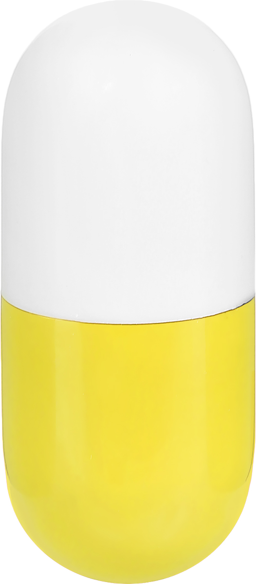 Эврика Ручка шариковая Пилюля неваляшка цвет корпуса желтый белый72523WDОригинальная шариковая ручка Эврика Пилюля неваляшка, выполненная в виде бело-желтой таблетки-капсулы, станет отличным подарком и незаменимым аксессуаром, она, несомненно, удивит и порадует получателя.
