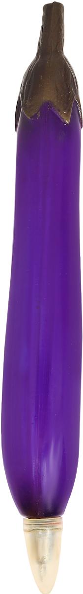 Эврика Ручка шариковая Баклажан90611Изобретение середины XX века, не утратившее своей актуальности по сей день, - шариковая ручка с оригинальной формой полимерного корпуса.Необходимая офисная и бытовая принадлежность и прекрасный сувенир для любителей необычной канцелярии.На корпусе ручки Эврика Баклажан имеется магнит, с помощью которого вы можете прикрепить ручку на любую металлическую поверхность.