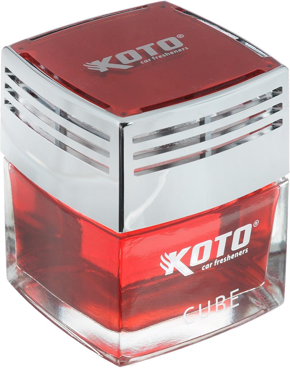 Ароматизатор автомобильный Koto Cube. Morning Fresh, гелевый, 50 млK100Автомобильный ароматизатор Koto Cube. Morning Fresh эффективно устраняет неприятные запахи и придает легкий приятный аромат. Сочетание формулы геля с парфюмами наилучшего качества обеспечивает устойчивый запах. Кроме того, ароматизатор обладает элегантным дизайном, поэтому будет гармонично смотреться в салоне любого автомобиля. Благодаря удобной конструкции, его можно установить в любое место, например, на панель, под сиденье или в двери. Крепится ароматизатор с помощью двусторонней наклейки (входит в комплект). Ароматизатор имеет продолжительный срок службы - до 60 дней. Его можно использовать не только в автомобиле, но и в домашних условиях.