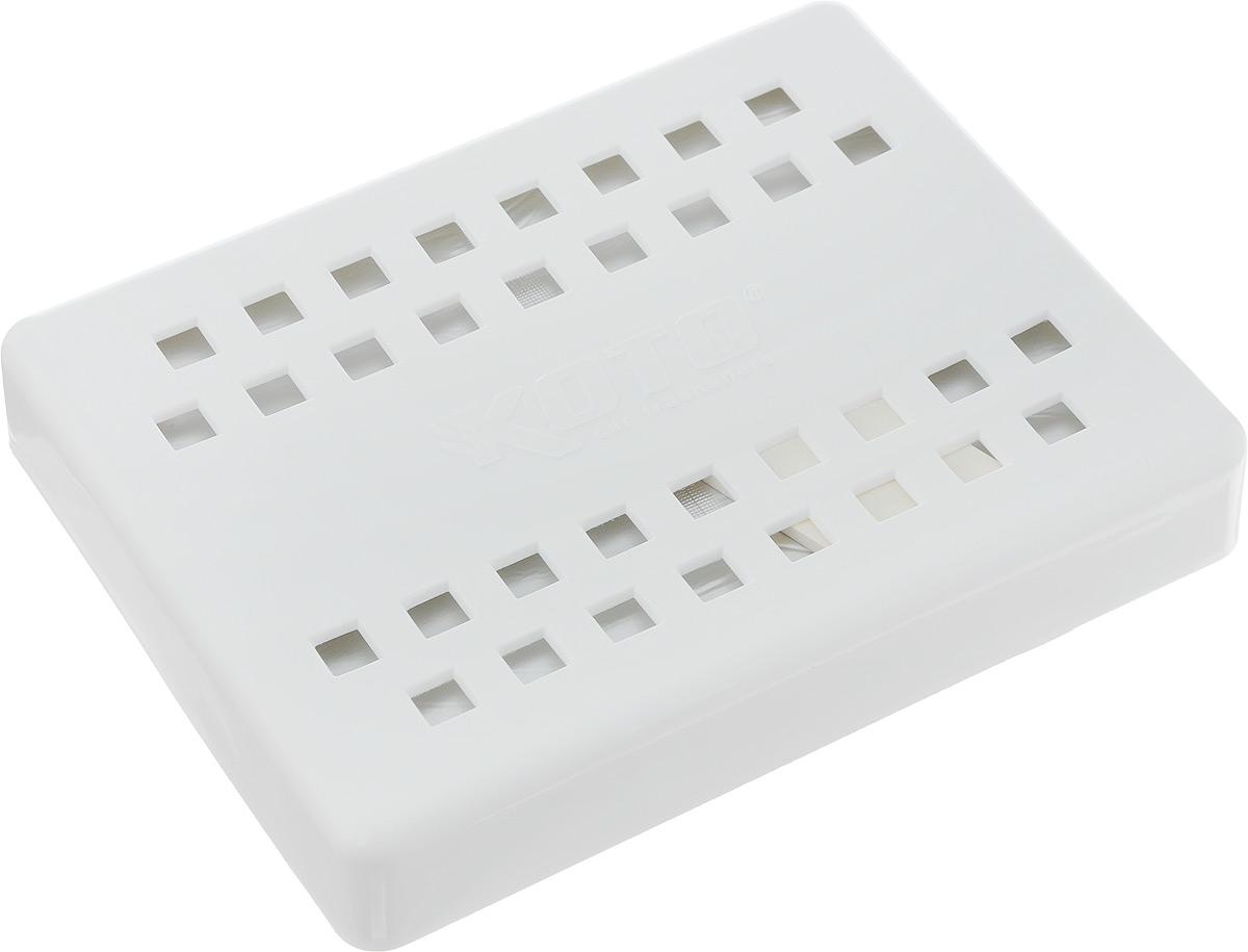 Ароматизатор автомобильный Koto Double Supreme, под сиденье, ваниль, 200 гFPG-205Автомобильный ароматизатор Koto Double Supreme эффективно устраняет неприятные запахи и придает легкий приятный аромат ванили. Современная высокоэффективная основа - масляный гель, обеспечивает длительный срок службы и устойчивость к перепадам температуры окружающей среды. Сочетание формулы геля с парфюмами наилучшего качества обеспечивает устойчивый запах. Кроме того, ароматизатор обладает элегантным дизайном, поэтому будет гармонично смотреться в салоне любого автомобиля. Благодаря удобной конструкции, его можно установить в любое место, например, на панель, под сиденье или в двери. Крепится ароматизатор с помощью двусторонней наклейки (входит в комплект). Срок эффективного действия - до 90 дней. Его можно использовать не только в автомобиле, но и в домашних условиях.