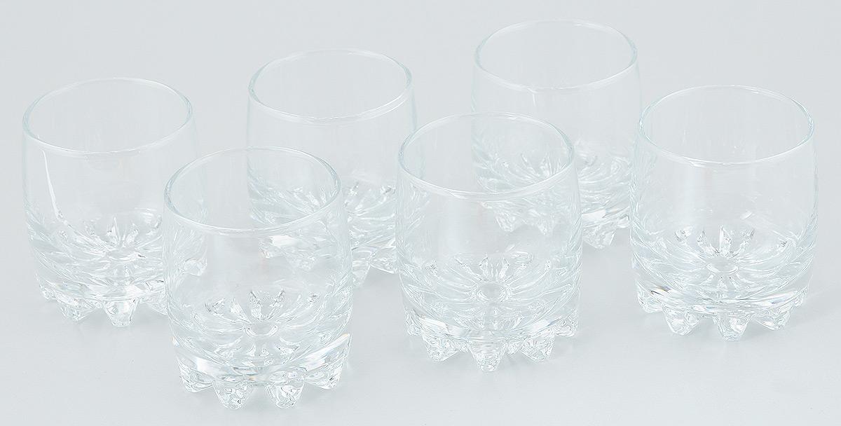 Набор стаканов Pasabahce Sylvana, 200 мл, 6 шт42414/Набор Pasabahce Sylvana состоит из шести стаканов, выполненных из прочного натрий-кальций-силикатного стекла. Изделия отлично подходят для подачи виски или бренди. Бокалы сочетают в себе элегантный дизайн и функциональность. Набор бокалов Pasabahce Sylvana прекрасно оформит праздничный стол и создаст приятную атмосферу за ужином. Такой набор также станет хорошим подарком к любому случаю. Можно мыть в посудомоечной машине.Диаметр стакана (по верхнему краю): 6,5 см. Высота стакана: 8 см.