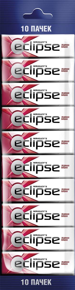 Eclipse Ледяная вишня жевательная резинка без сахара, 10 пачек по 13,6 г0120710Попробуйте по-настоящему ледяную свежесть. Жевательная резинка Eclipse Ледяная вишня освежает дыхание и придает уверенности в общении.Уверены в дыхании - уверены в себе!Уважаемые клиенты! Обращаем ваше внимание, что полный перечень состава продукта представлен на дополнительном изображении.