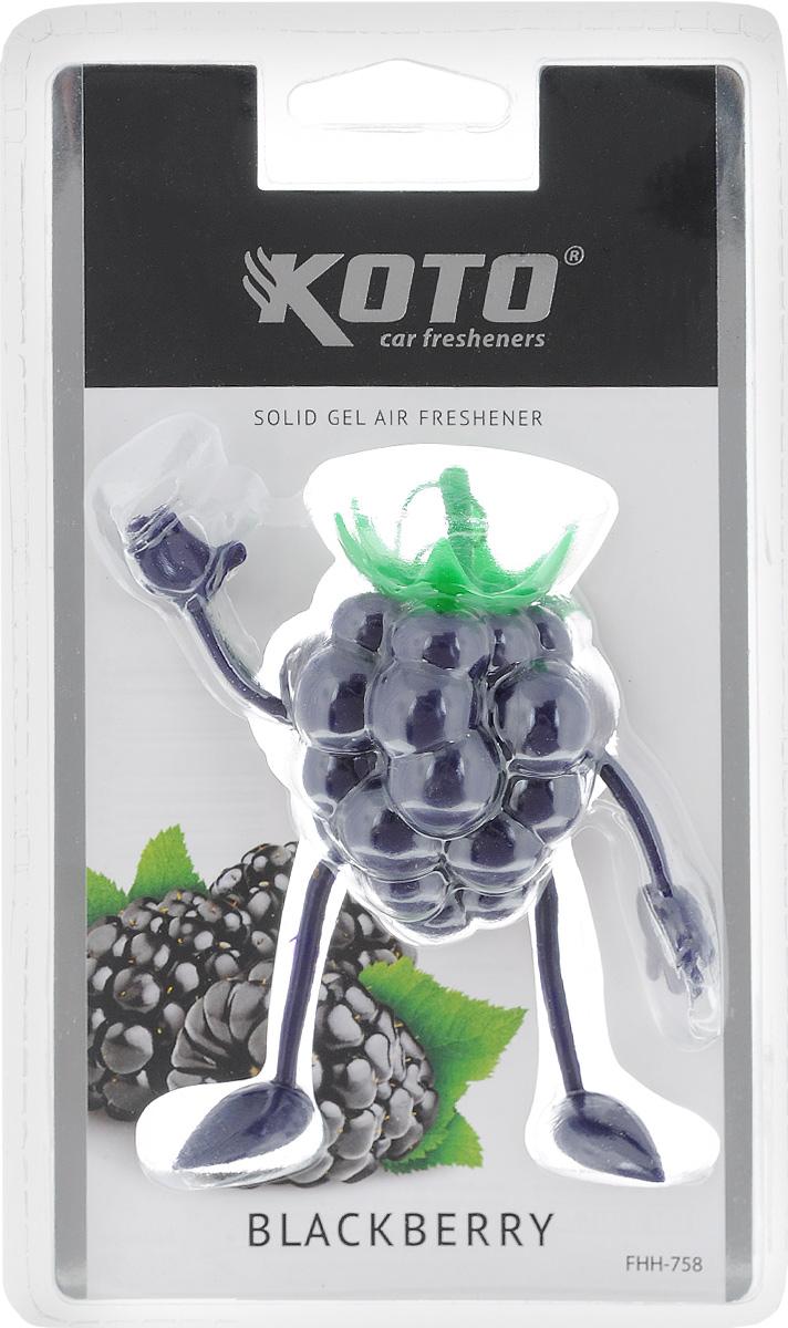 Ароматизатор автомобильный Koto Blackberry, гелевый, 50 г лазерная рулетка instrumax sniper 30 im0115