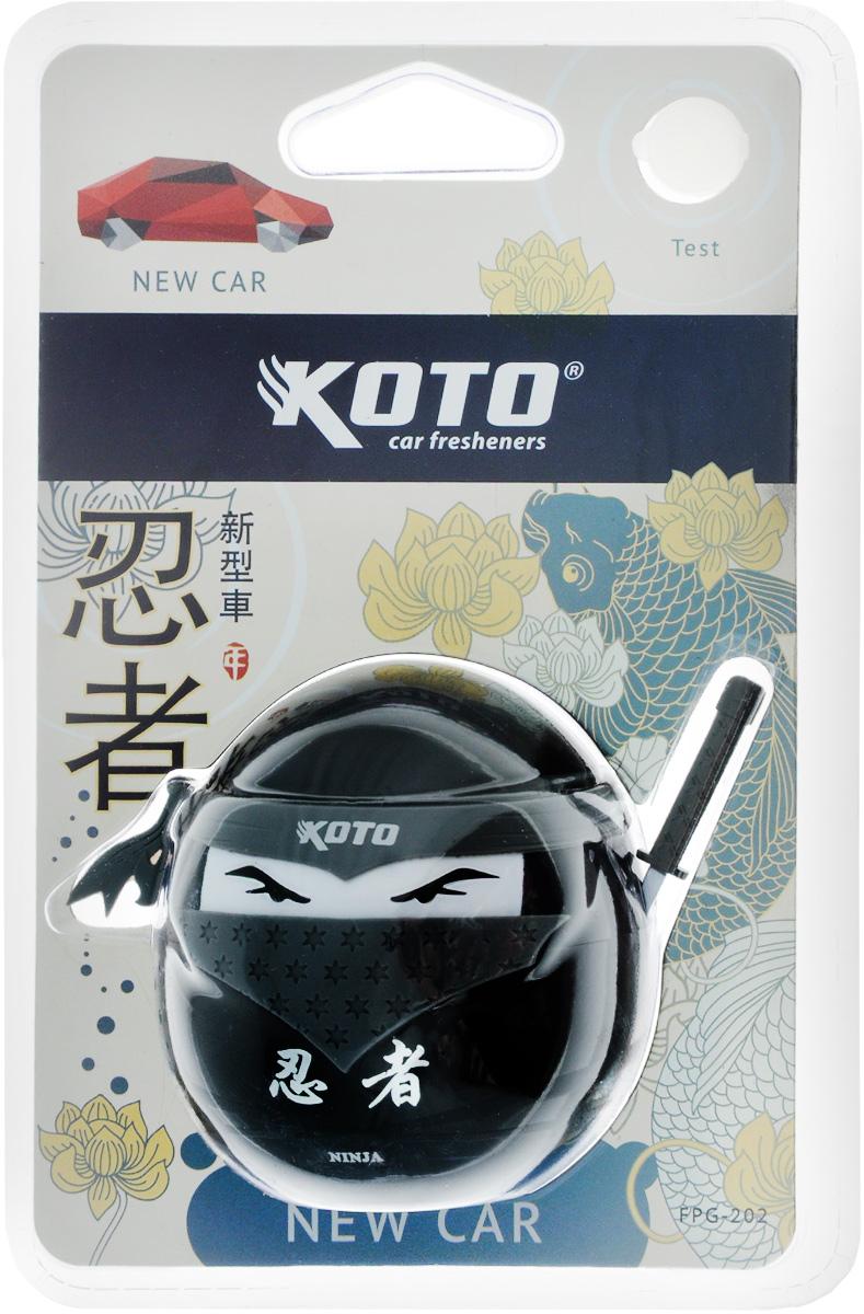Ароматизатор автомобильный Koto Ниндзя. New car, гелевый, 45 мл