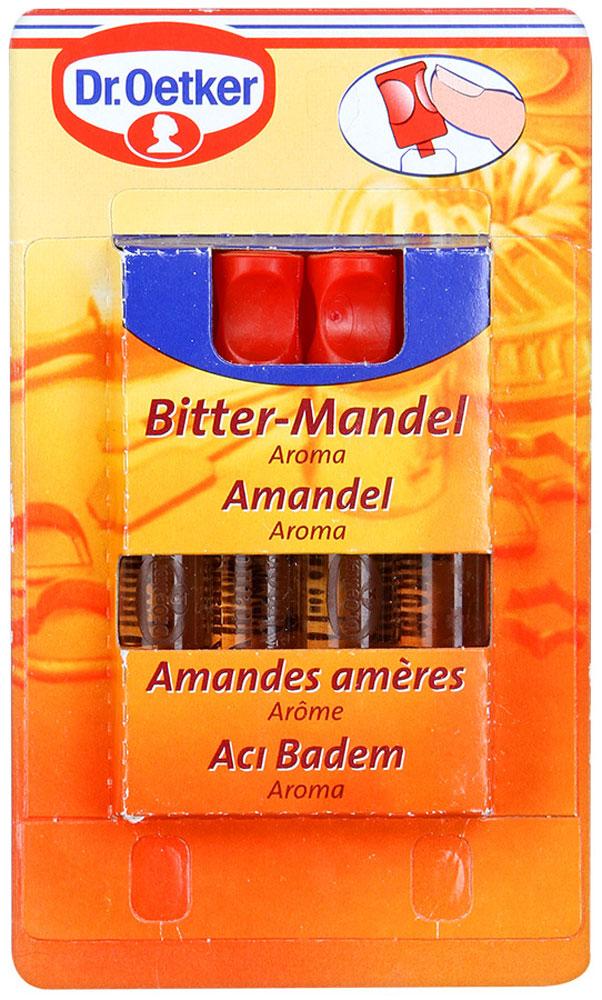 Dr.Oetker ароматизатор миндаль, 4 шт по 2 мл0120710Ароматизатор Dr.Oetker идеально подходит для придания аромата выпечке и десертам.