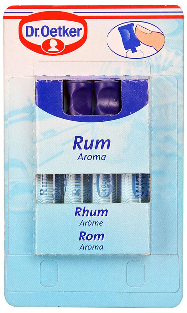 Dr.Oetker ароматизатор ром, 4 шт по 2 мл