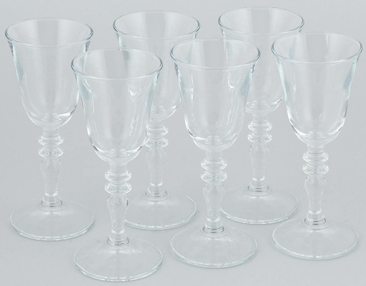Набор рюмок Pasabahce Vintage, 50 мл, 6 штSC-FD421004Набор Pasabahce Vintage состоит из 6 рюмок, изготовленных из прочного натрий-кальций-силикатного стекла. Изделия, предназначенные для подачи ликера и других спиртных напитков, несомненно придутся вам по душе. Рюмки сочетают в себе элегантный дизайн и функциональность. Набор рюмок Pasabahce Vintage идеально подойдет для сервировки стола и станет отличным подарком к любому празднику.Высота рюмки: 13 см.Диаметр рюмки: 5 см.