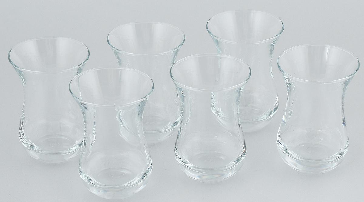 Набор стаканов Pasabahce Tea & Coffee, 140 мл, 6 шт28781450_фиолетовый слонНабор Pasabahce состоит из шести стаканов, выполненных из натрий-кальций-силикатного стекла. Изделия предназначены для подачи сока, воды, компота и другихнапитков. Такие стаканы станут идеальным украшением праздничного стола и отличным подарком к любомупразднику.