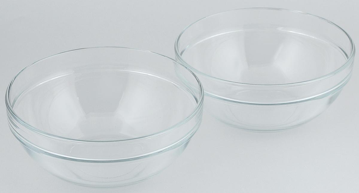 Набор салатников Pasabahce Chefs, диаметр 20 см, 2 шт68/5/3Набор Pasabahce Chefs состоит из 2 салатников, выполненных из высококачественного натрий-кальций-силикатного стекла. Такие салатники прекрасно подойдут для сервировки стола и станут достойным оформлением для ваших любимых блюд. Высокое качество и функциональность набора позволят ему стать достойным дополнением к вашему кухонному инвентарю.Диаметр салатника: 20 см.Объем салатника: 1,5 л.Высота салатника: 9 см.