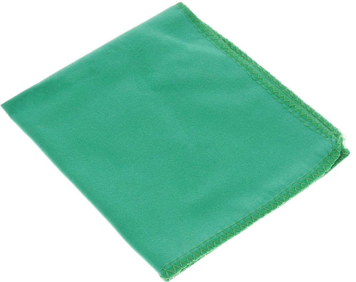 Салфетка для стекол, оптики и зеркал Home Queen, цвет: зеленый, 30 х 30 смGBD201Салфетка Home Queen, изготовленная из микрофибры (искусственная замша), предназначена для очищения загрязнений на любых поверхностях (включая стекла, зеркала, оптику, мониторы). Изделие обладает высокой износоустойчивостью и рассчитано на многократное использование, легко моется в теплой воде с мягкими чистящими средствами. Такая салфетка не оставляет разводов и ворсинок, удаляет большинство жирных и маслянистых загрязнений без использования химических средств. Впитывает гораздо больше воды, чем обычная ткань.Размер салфетки: 30 х 30 см.