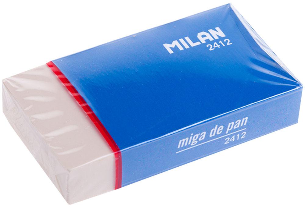 Milan Ластик 2412ЛС-20-525Синтетический ластик Milan нового поколения с высокоэффективным пластификатором. Ластик обеспечивает качественное стирание и не повреждает бумагу.
