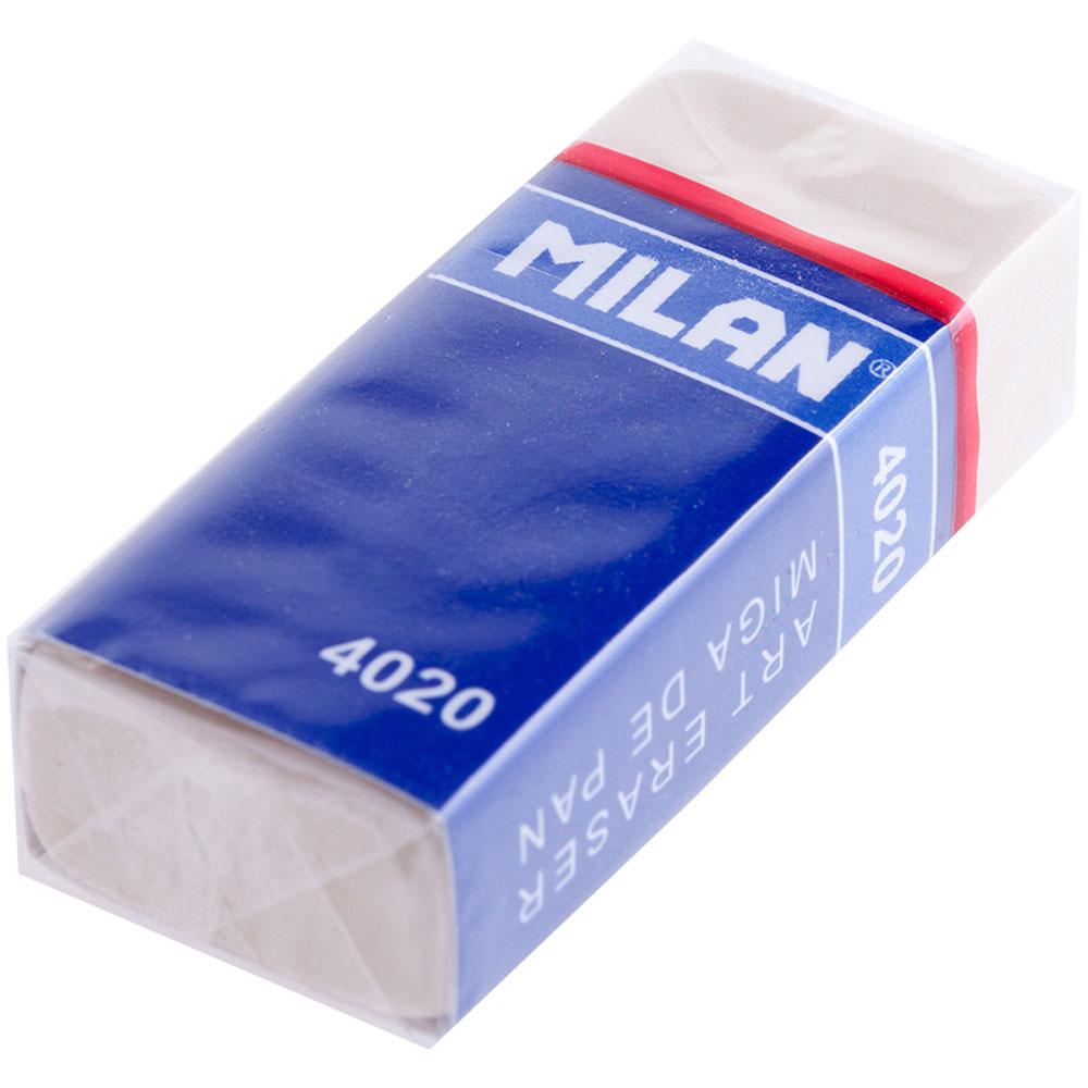 Milan Ластик 402072523WDКлассический ластик Milan выполнен из натурального каучука с держателем. Ластик обладает мягкой структурой.
