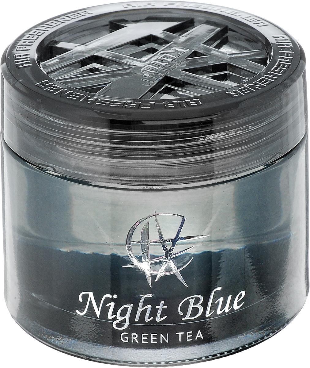 Ароматизатор автомобильный Koto Night Blue. Green tea, гелевый, 65 мл