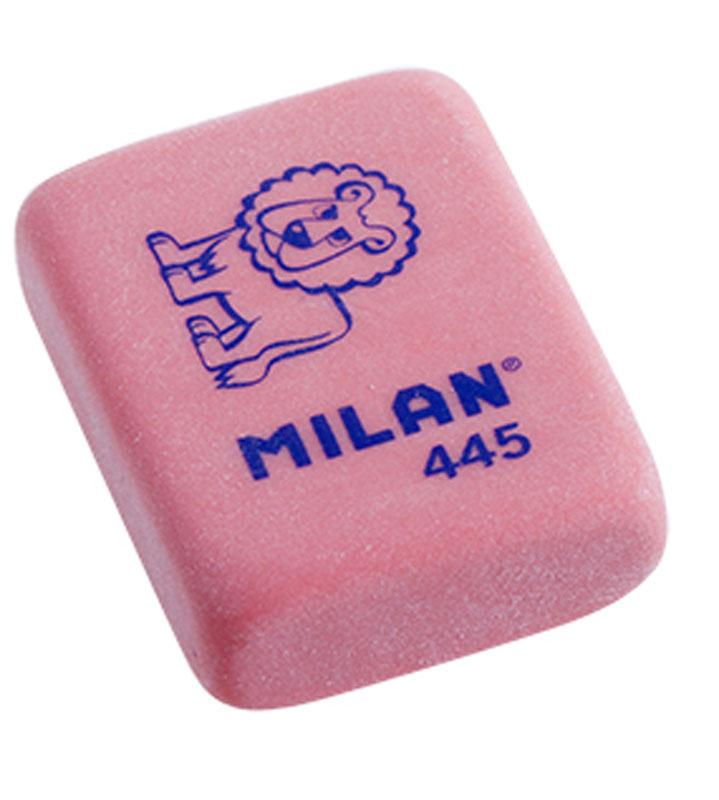 Milan Ластик 445 цвет красный72523WDУниверсальный ластик Milan с плотной текстурой может работать с цветными карандашами и чернилами.