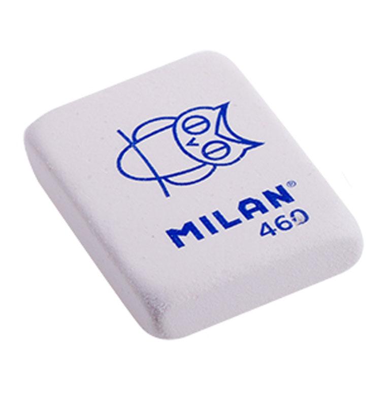 Milan Ластик 460 цвет белыйFS-36054Ластик Milan с плотной структурой для эффективного стирания карандашей различной твердости. Ластик обеспечивает высокое качество коррекции и не повреждает поверхность бумаги.