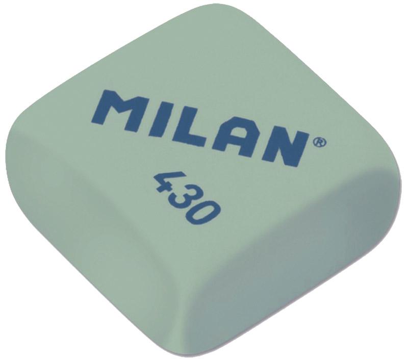 Milan Ластик 430 цвет зеленыйCMM430_зеленыйКачественный мягкий ластик Milan предназначен для работы с мягкими карандашами. Имеет классическую квадратную форму.