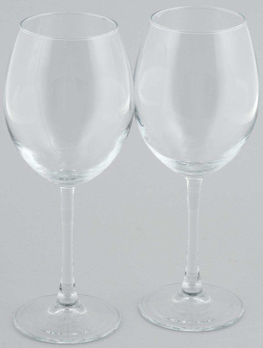Набор бокалов для красного вина Pasabahce Enoteca, 550 мл, 2 штVT-1520(SR)Набор Pasabahce Enoteca состоит из двух бокалов, выполненных из прочного натрий-кальций-силикатного стекла. Изделия оснащены высокими ножками и предназначены для подачи красного вина. Они сочетают в себе элегантный дизайн и функциональность. Набор бокалов Pasabahce Enoteca прекрасно оформит праздничный стол и создаст приятную атмосферу за романтическим ужином. Такой набор также станет хорошим подарком к любому случаю.