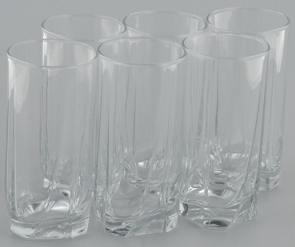 Набор стаканов для коктейлей Pasabahce Luna, 375 мл, 6 штVT-1520(SR)Набор Pasabahce, состоящий из шести стаканов, несомненно, придется вам по душе. Стаканы предназначены для подачи коктейлей, сока, воды и других напитков. Они изготовлены из прочного высококачественного прозрачного стекла и сочетают в себе элегантный дизайн и функциональность. Благодаря такому набору пить напитки будет еще вкуснее.Набор стаканов Pasabahce идеально подойдет для сервировки стола и станет отличным подарком к любому празднику.Высота стакана: 15 см.