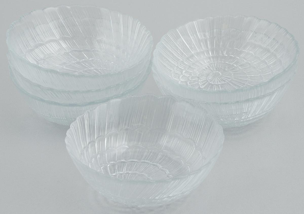 Набор салатников Pasabahce Atlantis, диаметр 12 см, 6 штVT-1520(SR)Набор Pasabahce Atlantis состоит из 6 салатников, выполненных из высококачественного натрий-кальций-силикатного стекла. Такие салатники прекрасно подойдут для сервировки стола и станут достойным оформлением для ваших любимых блюд. Высокое качество и функциональность набора позволят ему стать достойным дополнением к вашему кухонному инвентарю.Диаметр салатника: 12 см.