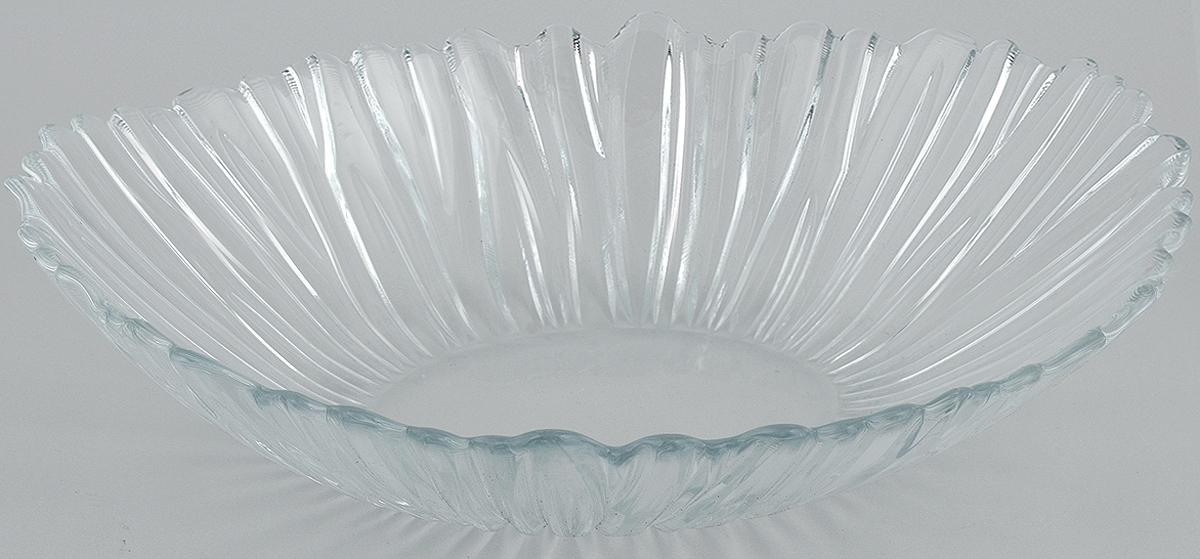 Салатник Pasabahce Aurora, 33 х 26,4 см54 009312Салатник Pasabahce Aurora, выполненный из прозрачного высококачественного натрий-кальций-силикатного стекла, предназначен для красивой сервировки различных блюд. Салатник сочетает в себе лаконичный дизайн с максимальной функциональностью. Оригинальность оформления придется по вкусу и ценителям классики, и тем, кто предпочитает утонченность и изящность.Размер салатника: 33 х 26,4 см.