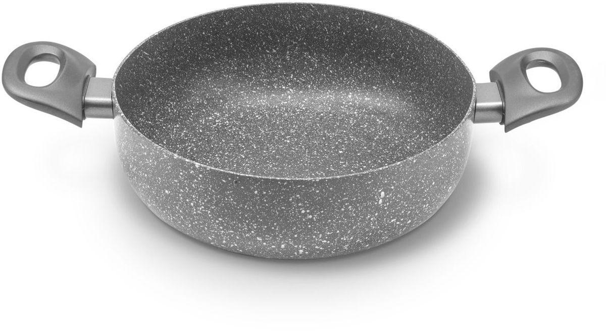 Сотейник MoulinVilla Кухня, с антипригарным покрытием. Диаметр 24 см391602Сотейник MOULINvilla Кухня, изготовленный из литого алюминия, покрыт экологически чистым антипригарным покрытием, которое при приготовлении пищи позволяет равномерно прогревать поверхность, препятствует пригоранию продуктов и устойчиво к механическому повреждению. Удобные пластиковые ручки позволяют использовать сотейник, забыв о прихватке.Роскошный дизайн и изысканный цвет сотейника MOULINvilla отлично украсят кухню и подчеркнут вашу индивидуальность.Подходит для газовых, электрических, стеклокерамических плит и индукционных плит. Сотейник пригоден для мытья в посудомоечной машине, но без использования абразивных чистящих средств.
